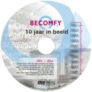 dvd-Becomfy-10-jaar